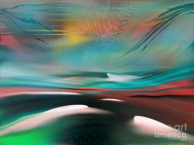 Digital Art - Impact 3 Series by Yul Olaivar
