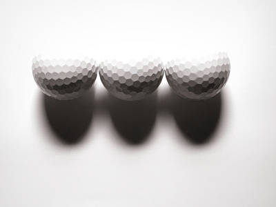 Impactful Golfing Art Print