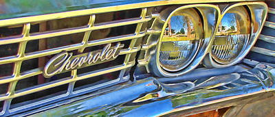 Photograph - Impala Grill  by Tony Grider