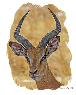 Digital Art - Impala by Larry Linton