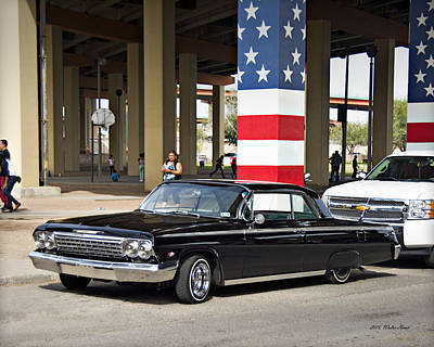 Photograph - Impala Ss_1b by Walter Herrit