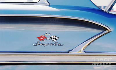 Impala Style Art Print by Tim Gainey