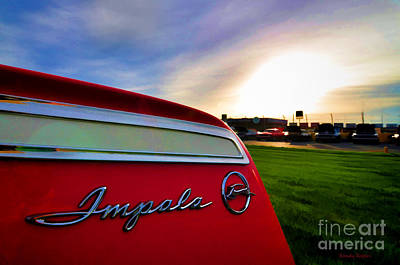 Photograph - Impala Sunrise by Randy Rogers