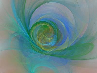 Digital Art - Impallid by Jeff Iverson