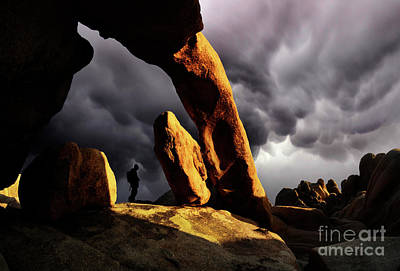 Hiding Photograph - Impending Storm by Bob Christopher