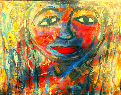 Painting - Imperfect Me by Fania Simon