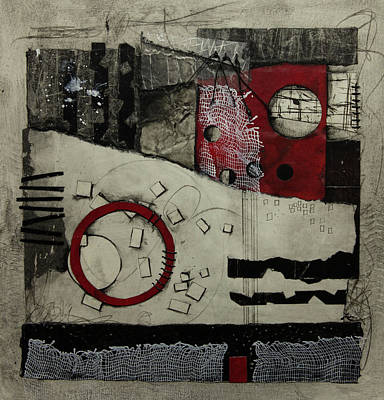 Mixed Media - Imperfect Reality  by Laura Lein-Svencner