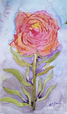Painting - Imperfect Rose by Barrie Stark
