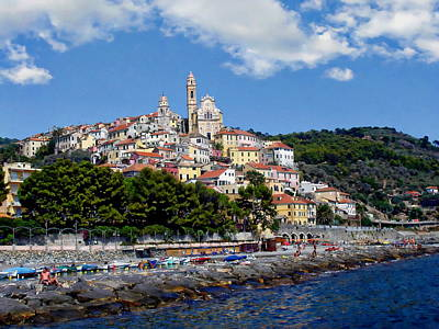 Photograph - Imperia Province Scenery by Anthony Dezenzio