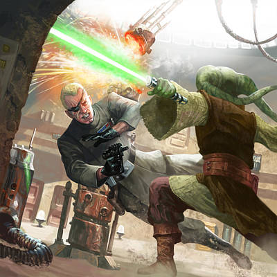 Lightsaber Digital Art - Imperial Assassin by Ryan Barger