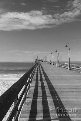 Photograph - Imperial Beach Pier by Ana V Ramirez