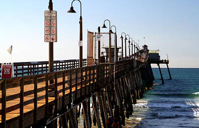 Photograph - Imperial Beach Pier by Christopher Woods