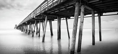 Photograph - Imperial Beach Pier Panorama by William Dunigan