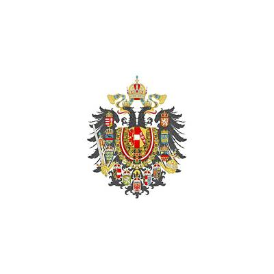 Digital Art - Imperial Coat Of Arms Of The Empire Of Austria-hungary Transparent by Helga Novelli