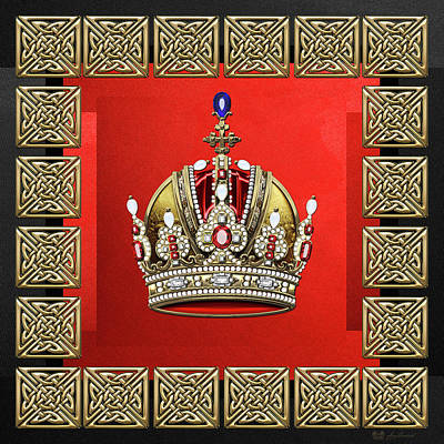 Imperial Crown Of Austria  Original by Serge Averbukh