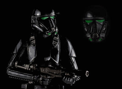 Enforcer Photograph - Imperial Death Trooper by Larry Helms