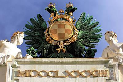 Photograph - Imperial Emblem Wien by John Rizzuto