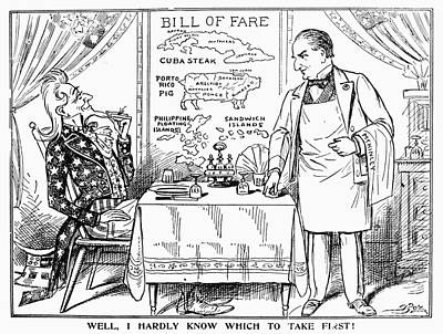 Photograph - Imperialism Cartoon, C1900 by Granger