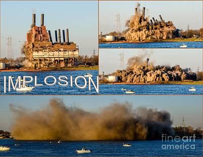 Photograph - Implosion by Grace Grogan