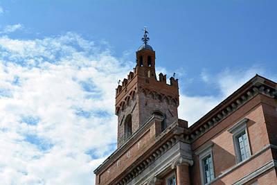 Important Brick Building In Foligno, Italy Art Print by Oana Unciuleanu