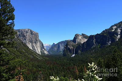 Photograph - Imposing Alpine World - Yosemite Valley by Christiane Schulze Art And Photography