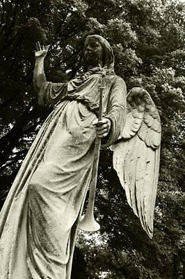 Imposing Angel Art Print by Brigid Nelson