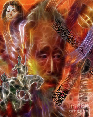 Don Quixote Digital Art - Impossible Dream by John Beck