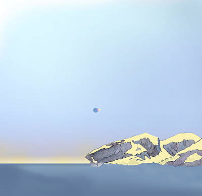 Impossible Eclipse Art Print