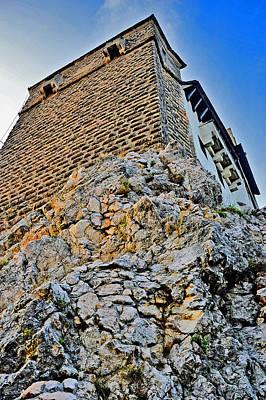 Impregnable Wall. Bran Castle - Dracula's Castle. Original