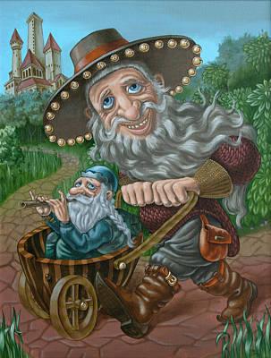 Painting - Impresario by Victor Molev