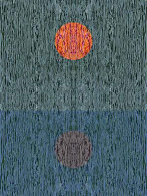 Reflexions Digital Art - Impression 1 by Attila Meszlenyi