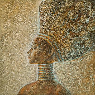 Art Nouveau Painting - Impression by Eurika Urbonaviciute