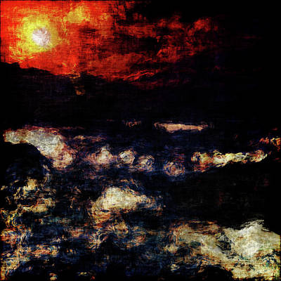 Painting - Impression Of A Seaview by Jan Keteleer