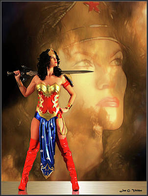 Photograph - Impression Of A Wonder Woman by Jon Volden
