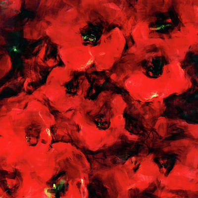 Painting - Impression Of Poppies by Jan Keteleer