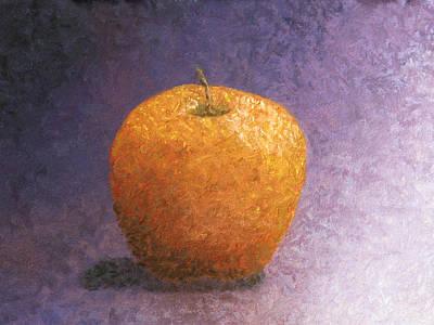 Impressionist Apple Art Print