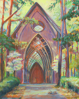 Painting - Impressionist Cooper Chapel by Erika Nelson