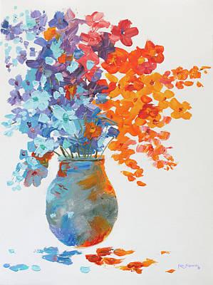 Painting - Impressionist Flowers 8 by Ken Figurski