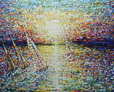 Painting - Impressionist Heaven by Pete Caswell