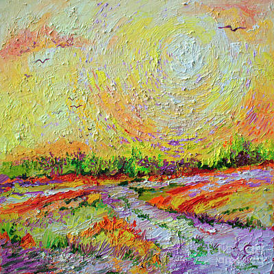 Painting - Impressionist Landscape Sunny Day by Ginette Callaway
