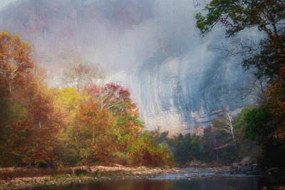 Photograph - Impressionist Roarks Bluff by James Barber