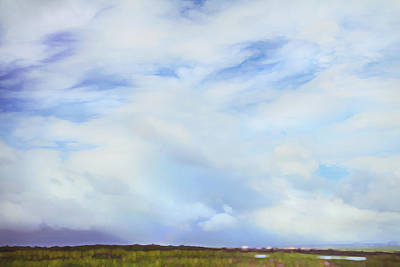 Photograph - Impressionist Sky Over Maui by Theresa Tahara