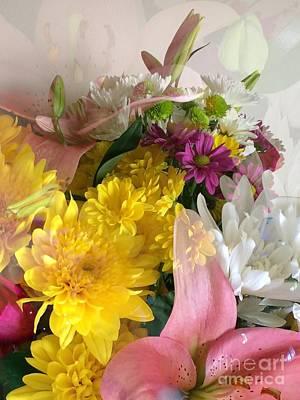 Photograph - Impressionist Spring Bouquet by Patricia E Sundik