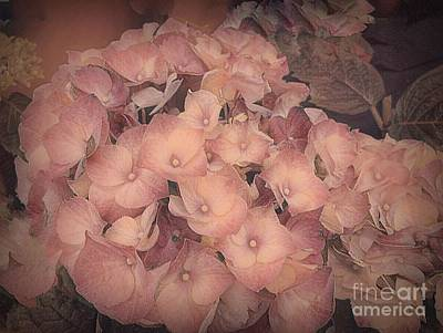 Photograph - Impressionist Summer Hydrangea by Luther Fine Art