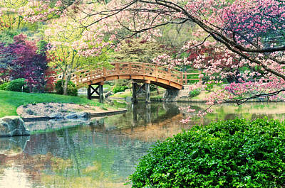 Photograph - Impressionistic Bridge  by Marty Koch