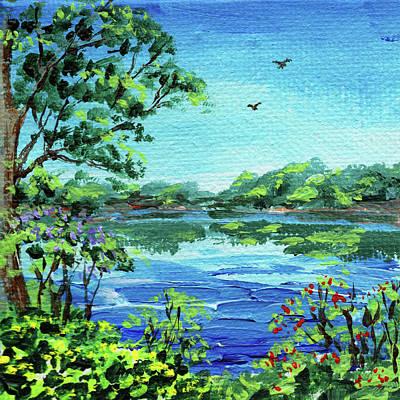 Painting - Impressionistic Landscape Number Xxx by Irina Sztukowski