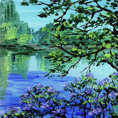 Painting - Impressionistic Landscape Xxi by Irina Sztukowski
