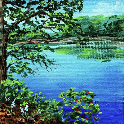 Painting - Impressionistic Landscape Xxv by Irina Sztukowski