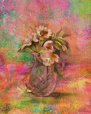 Photograph - Impressionistic Still Life  by Carla Parris