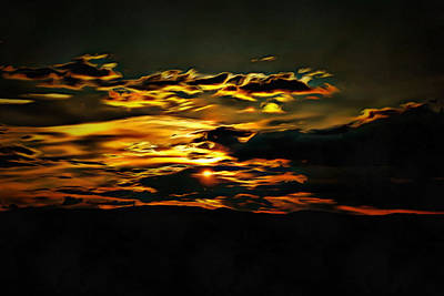 Photograph - Impressionistic Sunset by Dorothy Berry-Lound